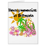 Honeymooning en Bermudas Tarjeton