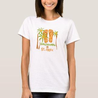 Honeymooning en camiseta del St. Croix