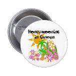 Honeymooning en Cancun Pin