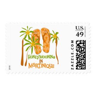 Honeymooning en el franqueo de Martinica