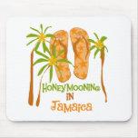 Honeymooning en Jamaica Alfombrillas De Ratón