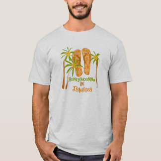 Honeymooning en la camiseta de Jamaica
