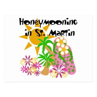 Honeymooning en San Martín Postales