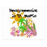 Honeymooning en San Martín Tarjeta Postal