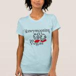 Honeymooning en Vegas Camisetas