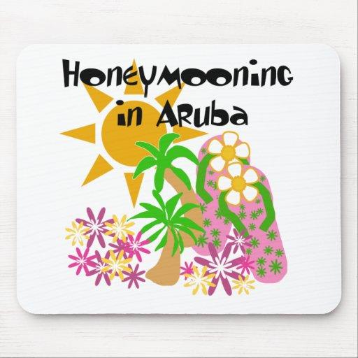 Honeymooning in Aruba Mouse Pad