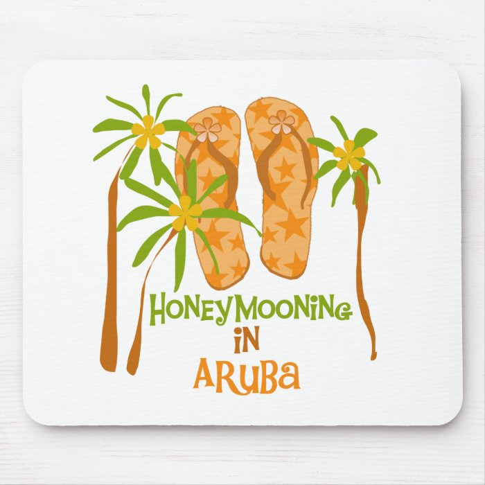 Honeymooning in Aruba Mouse Pad