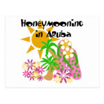 Honeymooning in Aruba Postcard