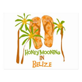 Honeymooning in Belize Post Cards