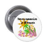 Honeymooning in Bermuda Pinback Button