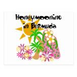 Honeymooning in Bermuda Post Cards