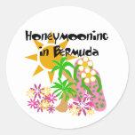 Honeymooning in Bermuda Stickers