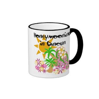 Honeymooning in Cancun Coffee Mug