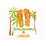 Honeymooning in Cancun Postcard