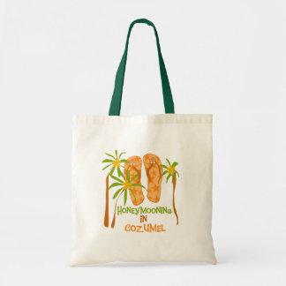 Honeymooning in Cozumel Tote Bag