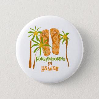 Honeymooning in Hawaii Button