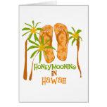 Honeymooning in Hawaii Greeting Card