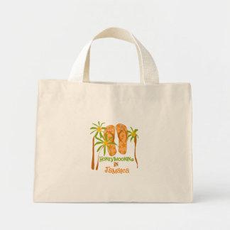 Honeymooning in Jamaica Canvas Bag