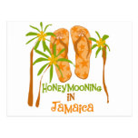 Honeymooning in Jamaica Postcard