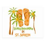 Honeymooning in St. Martin Postcard