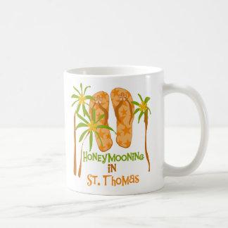 Honeymooning in St. Thomas Mug