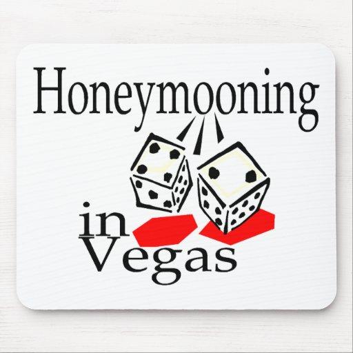 Honeymooning In Vegas Mouse Pads