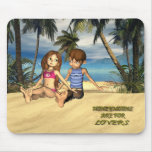 HONEYMOONS ARE FOR LOVERS MOUSE PADS