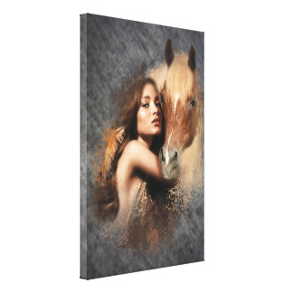 HoneyOnGrey Canvas Print
