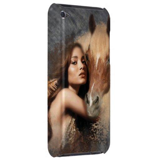 HoneyOnGrey - caso del tacto de iPod iPod Case-Mate Cárcasa
