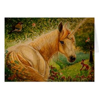 Honey's Meadow - Unicorn Notecard Stationery Note Card