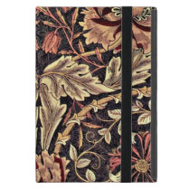 Honeysuckle, a William Morris vintage design Cover For iPad Mini