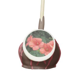 Honeysuckle Blooms Cake Pops