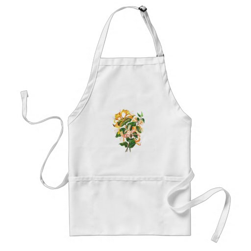 Honeysuckle Bouquet Adult Apron