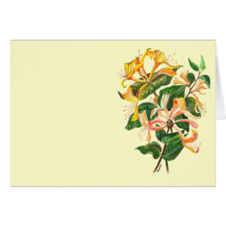 Honeysuckle Bouquet Card