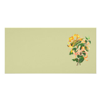 Honeysuckle Bouquet Card