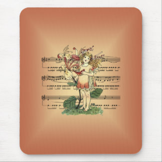 Honeysuckle By Nellie Benson  1901 ~ Sheet  Music Mouse Pad