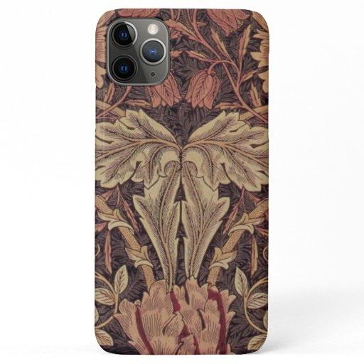Honeysuckle by William Morris, Garden Flowers Art iPhone 11 Pro Max Case