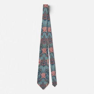 Honeysuckle by William Morris, Vintage Flowers Art Tie