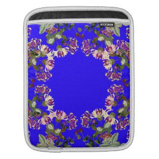 Honeysuckle Floral Botanical Flowers iPad Sleeve