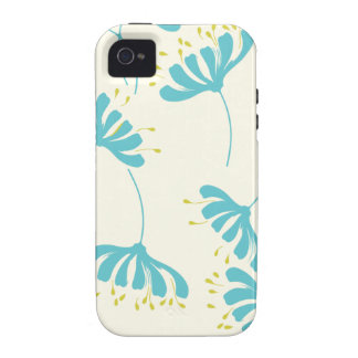 Honeysuckle Floral Pattern Case-Mate iPhone 4 Covers