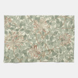 Honeysuckle Floral Wallpaper William Morris Hand Towels