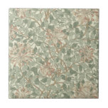 Honeysuckle Floral Wallpaper William Morris Ceramic Tile