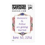 Honeysuckle Frame Postage Stamp ~ 3.5 Oz.