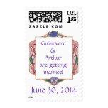 Honeysuckle Frame Postage Stamp ~ 4 Oz.