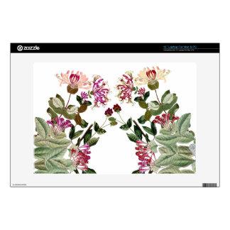 "Honeysuckle Vine Flowers Floral Skin Skin For 13"" Laptop"