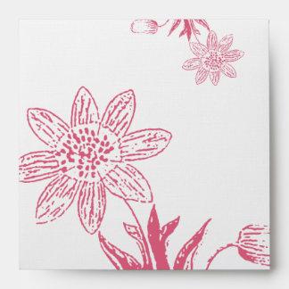 Honeysuckle Wild Flower Envelopes