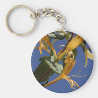 Honeysuckly - June Birth Flower Keychain