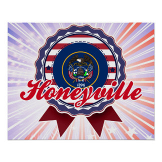 Honeyville, UT Poster