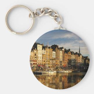 Honfleur, France Keychain