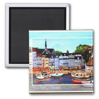 Honfleur, France Painting Magnet